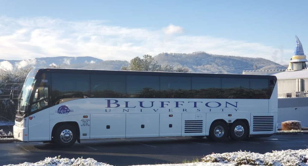 Buckey charter Service Bus Bluffton University